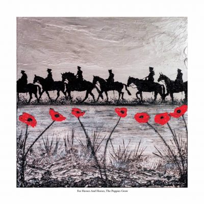 For Heroes & Horses, Poppies Grow