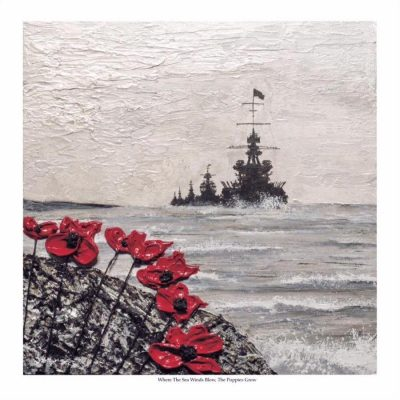 Where The Sea Winds Blow, The Poppies Grow - by Jacqueline Hurley