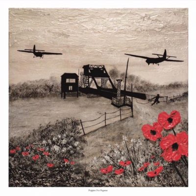 Poppies For Pegasus - by Jacqueline Hurley