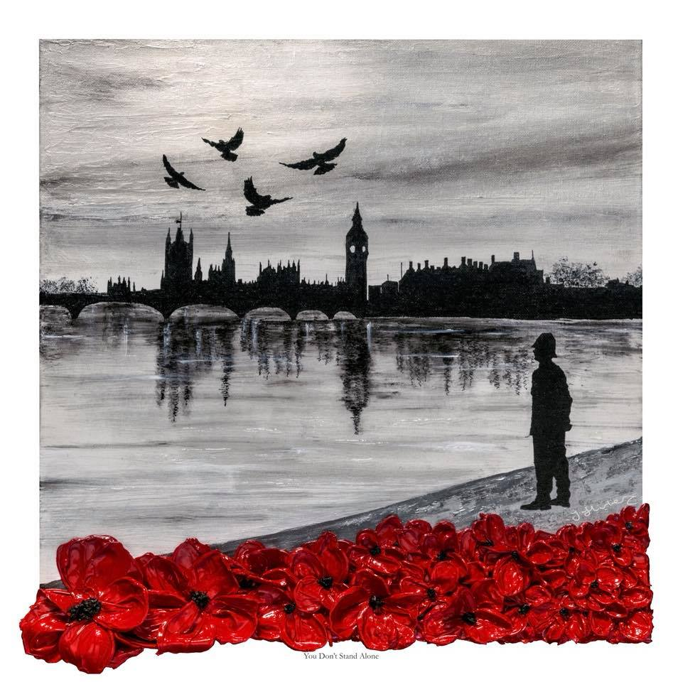 The War Poppy Collection - Remembrance Art