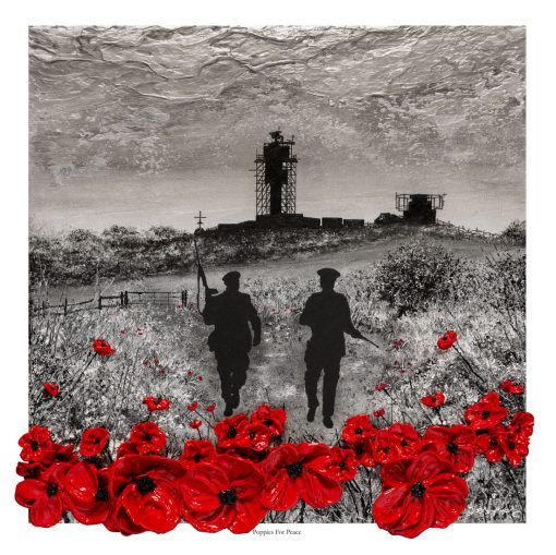Poppies For Peace Open Edition print