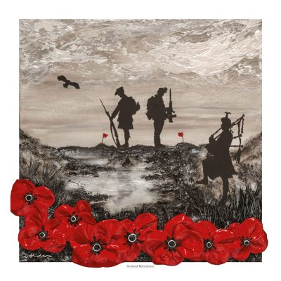 Scotland Remembers, Open Edition print