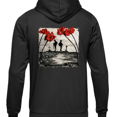 Remember And Reflect Hoodie, the back