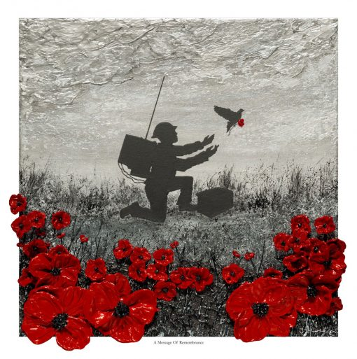 A Message of Remembrance, Open Edition Print