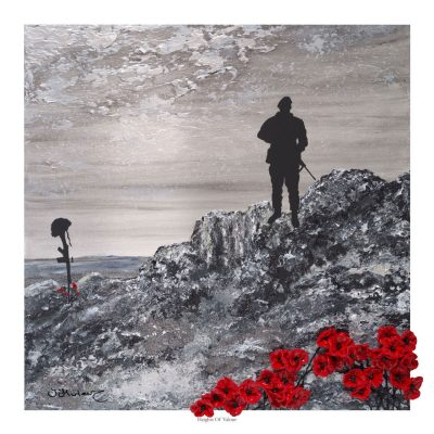 Heights Of Valour, Open Edition print