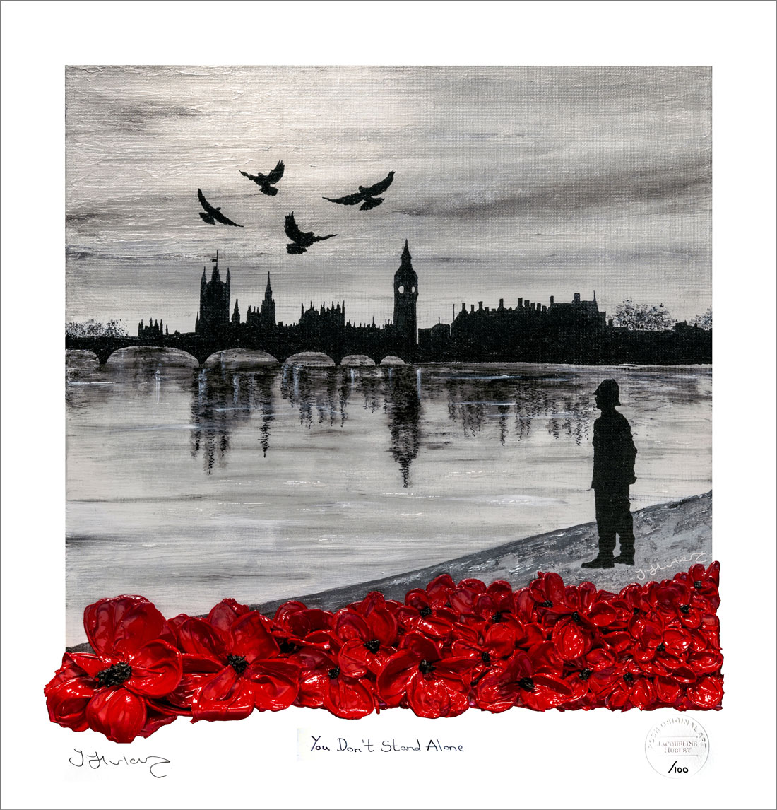 You Don't Stand Alone - Signed Limited Edition Giclée Print